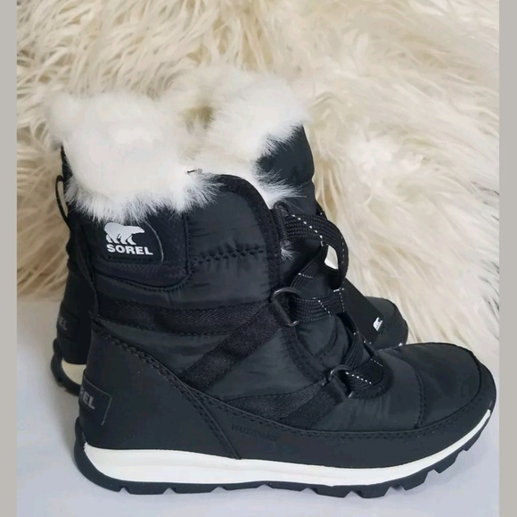 ff4d3a76bb Sorel Shoes | Youth Whitney Short Lace Girls Boots | Poshmark